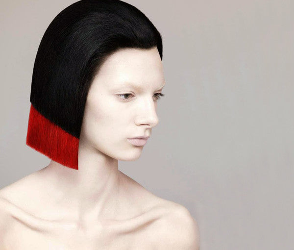 Hair Art- Guido Palao-Red-Layered-Bob-Short-Couture-Styling-Fashion-Beauty-Photography-Article-Kids of Dada