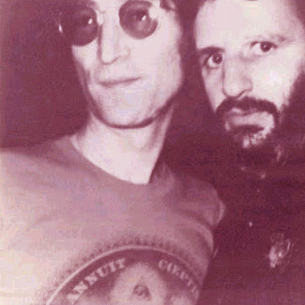 John Lennon and Ringo Starr in New York City, 1979