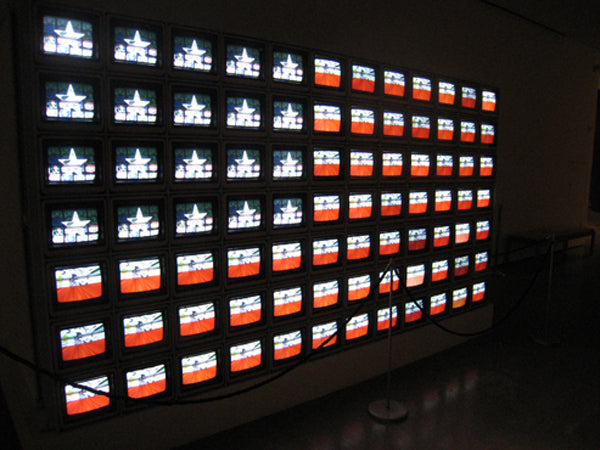 Nam June,'Video Flag Z', 1986