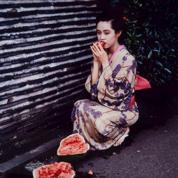 Nobuyoshi Araki_art_kimono_watermelon_contemporary_photography_Japan_erotic_article_Kids of Dada