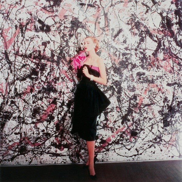 Cecil Beaton uses a Jackson Pollock painting for a Vogue Shoot, 1951