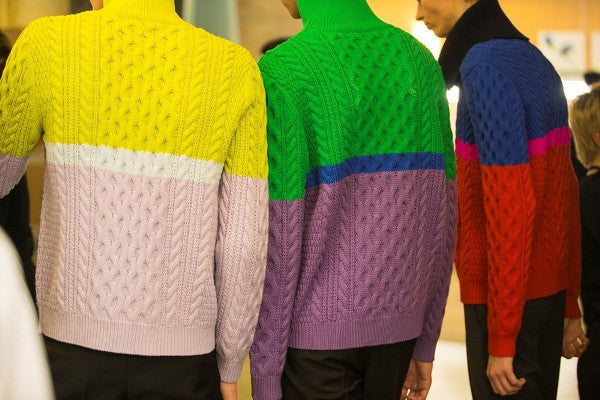Kenzo Homme AW14 by Jacques Habbah