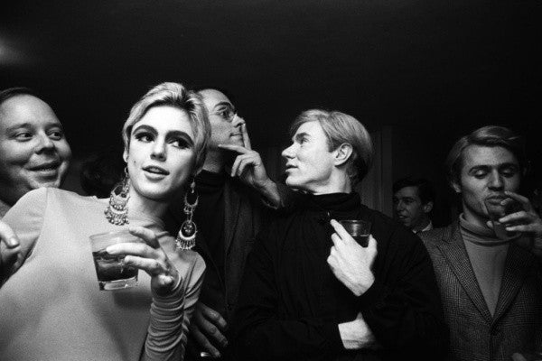 Edie Sedgwick, a reguar at Warhol's Factory, 1960s