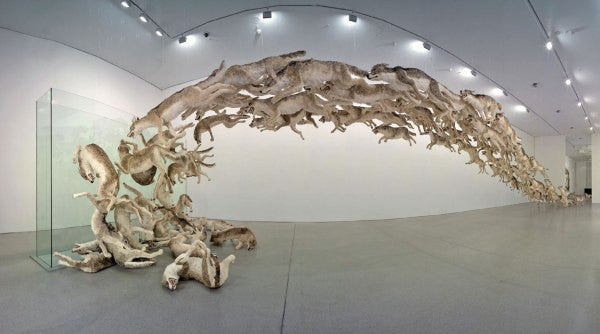 Cai Guo Giang, 'Head On', 2006