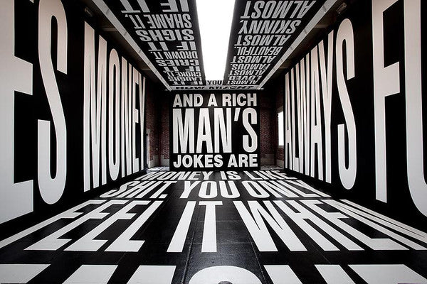 Barbara Kruger, Installation View at L&M Gallery, 2011