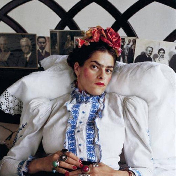 Tracey Emin as Frida Kahlo, photographed by Mary McCartney, 2010