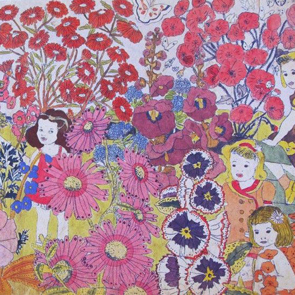 henry darger_flowers_nature_fantasy_outsider art_children_controversial_illustration_caretaker_article_Kids of Dada