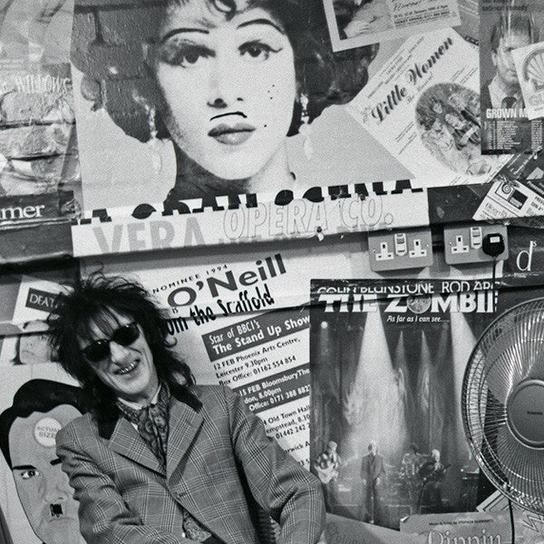 John Cooper Clark- Portrait-Interview-Photography-Punk-Poetry-Music-Article Kids of Dada