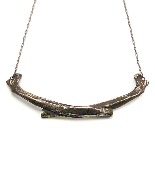 Brooklyn_Heavy_Metal_necklace_jewelry_handmade_oxidized_silver_coyote_bone_rock_chunky_fashion_kidsofdada