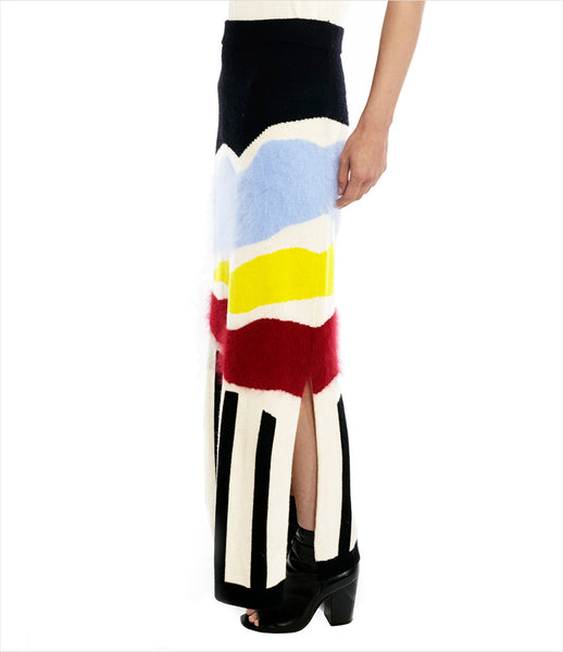 Chikimiki_skirt_clothing_under_500_cashmere_wool_multicolored_slim_fitting_geometrical_side_slit_whimsical_sophisticated_fashion_kidsofdada