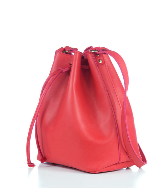 Elena_Athanasiou_shoulderbag_accessory_handmade_under_150_recycled_leather_red_bucket_shape_classic_fashion_kidsofdada