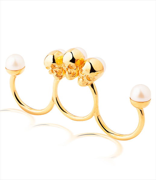 Gisele_Ganne_ring_jewelry_handmade_yellow_gold_plated_sterling_duster_skulls_pearls_rock_statement_macabre_kidsofdada