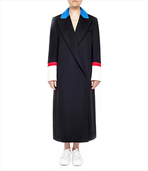 Marianna_Senchina_coat_clothing_handmade_bespoke_black_red_blue_oversized_masculine_stripe_double_breasted_fashion_kidsofdada