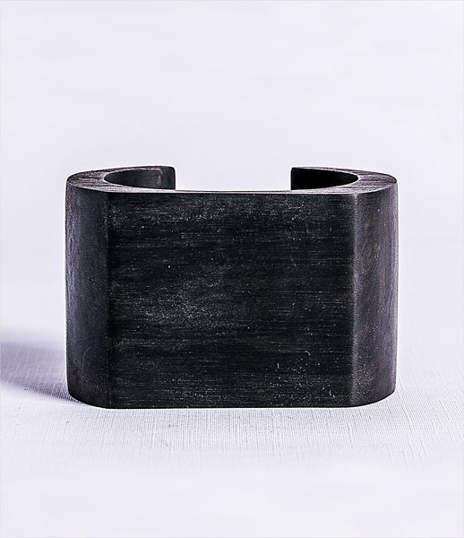 Parts_of_Four_bracelet_jewelry_handmade_made_to_order_blackwood_flat_top_rounded_chunky_statement_kidsofdada