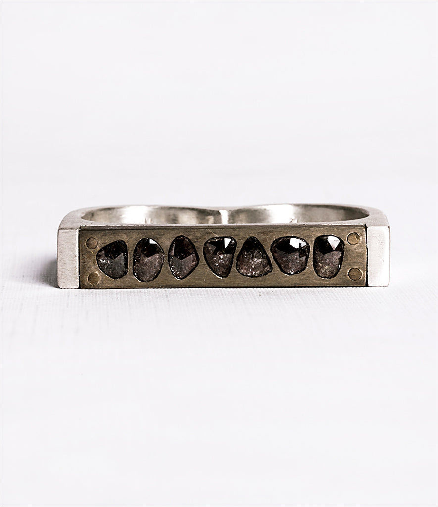 ring three diamonds products diamond s bar four