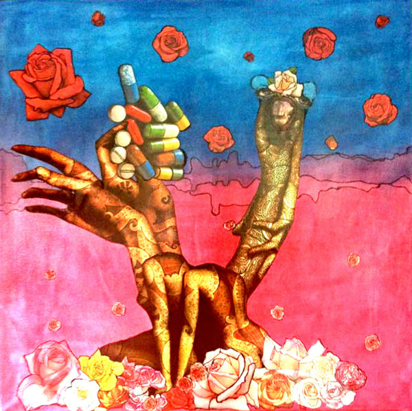Ilde_De Munck_art_surreal_colourfu_pink_blue_l_contemporary_vintage_collage_figurative_affordable_collectable_kids-of-dada_kidsofdada