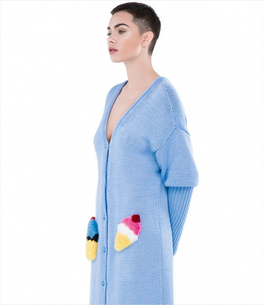 Blood&Honey_blood_honey_blue_pockets_ice-cream_popart_fur_cardigan_wool_1000_kidsofdada_fashion_womenswear_womens_luxury