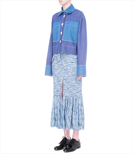 FLOW_the_label_blue_cotton_midi_skirt_speckle_print_split-front_micro-pleat_high-waist_contemporary-design_womenswear_fashion_kidsofdada_290