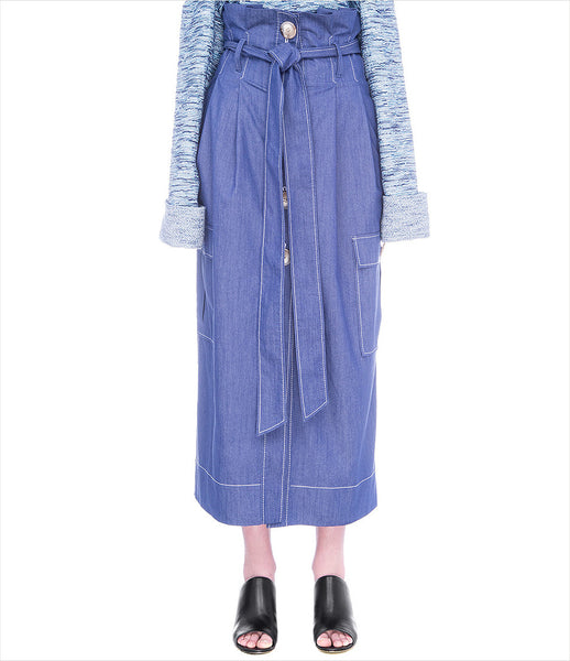 FLOW_the_label_denim_buttoned_skirt_high-waisted_tie_midi-length_trend_womenswear_womens_fashion_kidsofdada_190