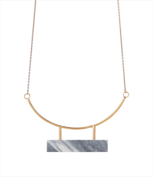 LLY_Atelier_marble_stone_necklace_bronze_handmade_antique_modern_jewelry_jewellery_acessories_fashion_minimal_classic_kidsofdada