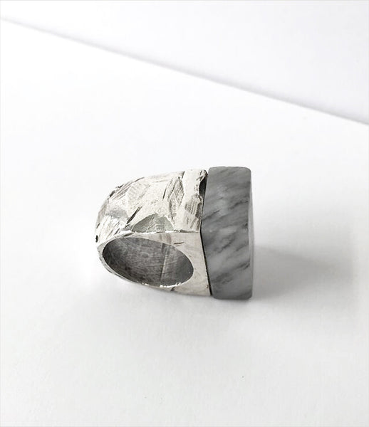 LLY_Atelier_marble_ring_jewelry_jewellery_accessories_silver_chunky_handmade_stone_texture_polished_statement_womens_fashion_kidsofdada