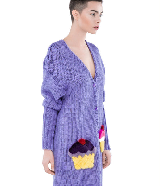 Blood&Honey_blood_honey_purple_pockets_ice-cream_popart_fur_long_cardigan_wool_1000_kidsofdada_fashion_womenswear_womens_luxury