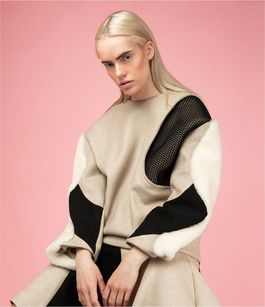 Tianchi-Ma_Alexander-Wang_sportswear_boxy_sweater_structured_cashmere_shearling_beige_patch_top_womens_fashion_kidsofdada