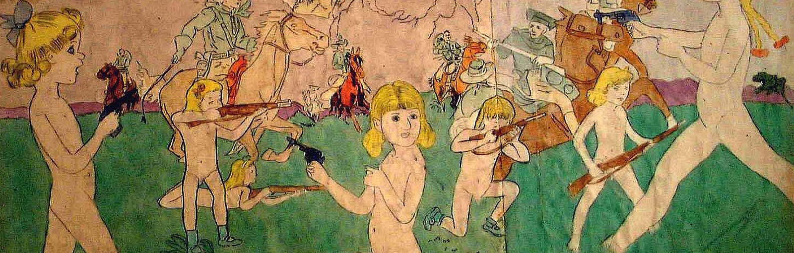 THE DISTURBED GENIUS OF OUTSIDER ARTIST HENRY DARGER