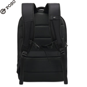 New POSO Backpack Multifunction 17.3 inch Laptop Backpack Large-capacity backpack