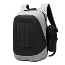 Load image into Gallery viewer, 2019 Solar Backpack 15.6 inch Laptop Backpack Solar Charging Travel Backpack