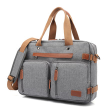 Load image into Gallery viewer, POSO 17.3 Laptop Backpack Multi-function Portable Shoulder Business Bag Waterproof Backpack