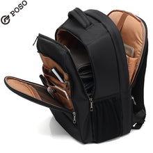 Load image into Gallery viewer, New POSO Backpack Multifunction 17.3 inch Laptop Backpack Large-capacity backpack