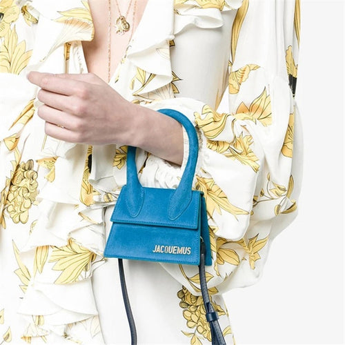 Big Handle Designer Shoulder Handbags Square Women Crossbody Bags Female Removable Shoulder Strap Small Tote Bag