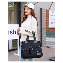 Load image into Gallery viewer, New Ladies Fashion Oxford Tote Bag Large Capacity Canvas Bag Casual Nylon Waterproof Shoulder Bag