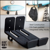 SRF MNT - Surfboard Surf Wall Racks/Mount/Shelf/Storage with Utility Hooks