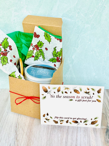 Holiday Gift Boxed Glowing Body Polish