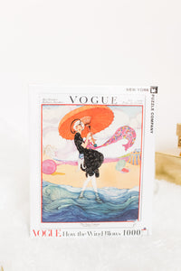 """How The Wind Blows"" Vogue Puzzle 1,000 PC"