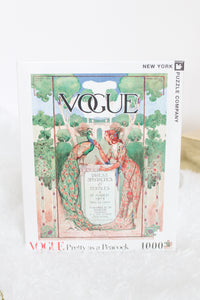 """Pretty As A Peacock"" Vogue Puzzle 1,000 PC"