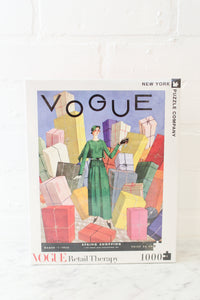 """Retail Therapy"" Vogue Puzzle 1,000 PC"