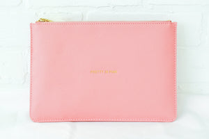 """Pretty In Pink"" Pink Pouch"