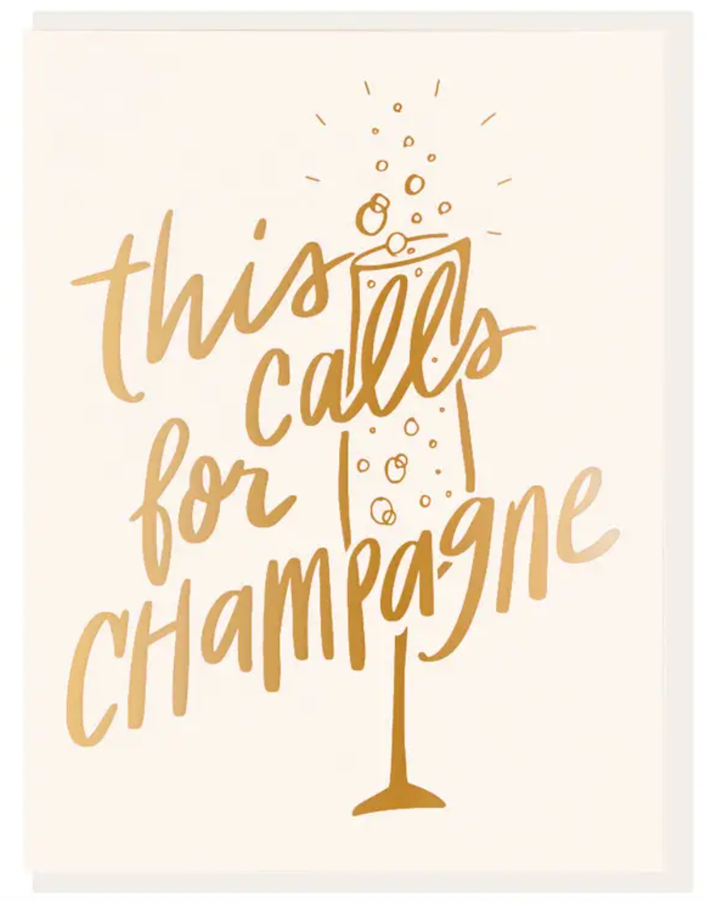 This Calls For Champagne
