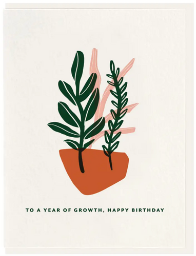 Year Of Growth - Happy Birthday