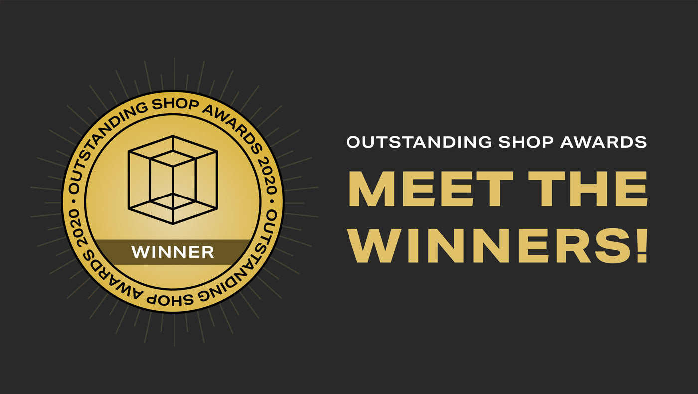 The winners of the Outstanding Shop Awards 2020