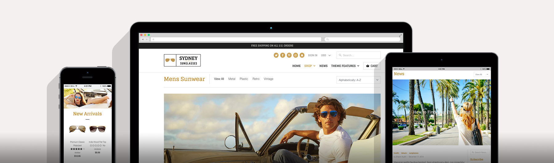 Mobilia shopify theme sydney out of the sandbox for Mobilia instagram
