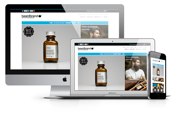 Beardbrand Shopify Theme