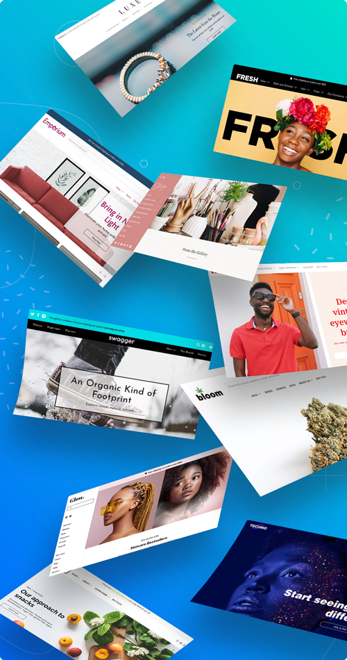 Shopify Themes from Out of the Sandbox