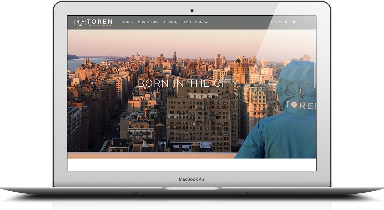 Parallax Shopify theme feature spotlight: Storytelling on the ...
