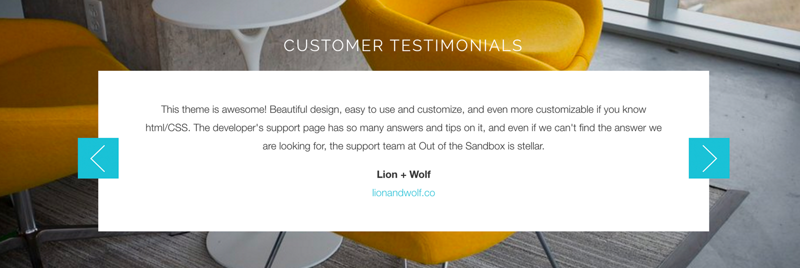 13 ways to use the testimonial section in your Shopify theme