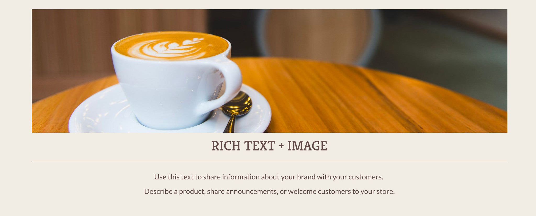 13 Ways To Use The Rich Text And Image And Page Sections