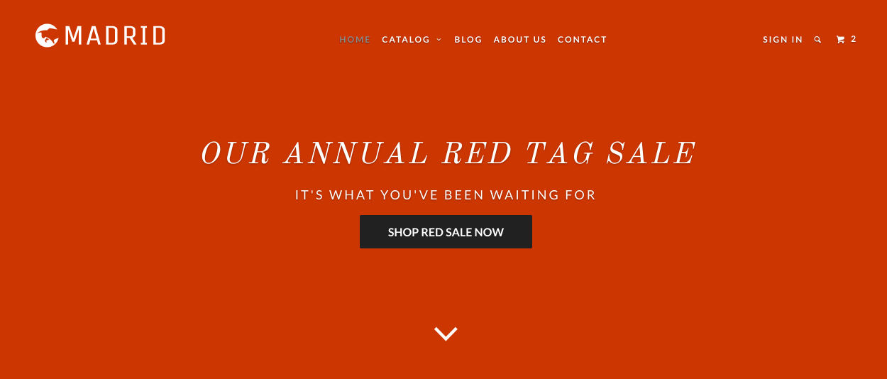 Tips for creating full width banners for Shopify themes - Out of the